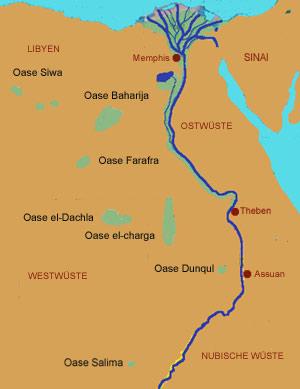 Karte ägypten Nil.Unbenanntes Dokument